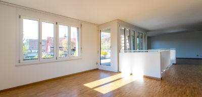 Umbau Dachwohnung Dürig Architekten Hofmattstrasse Arlesheim